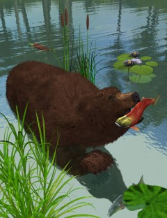 Grizzly Bear Action