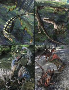 Prehistoric Predator Poses