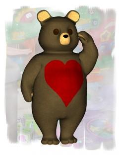 Lovey Bear Poses