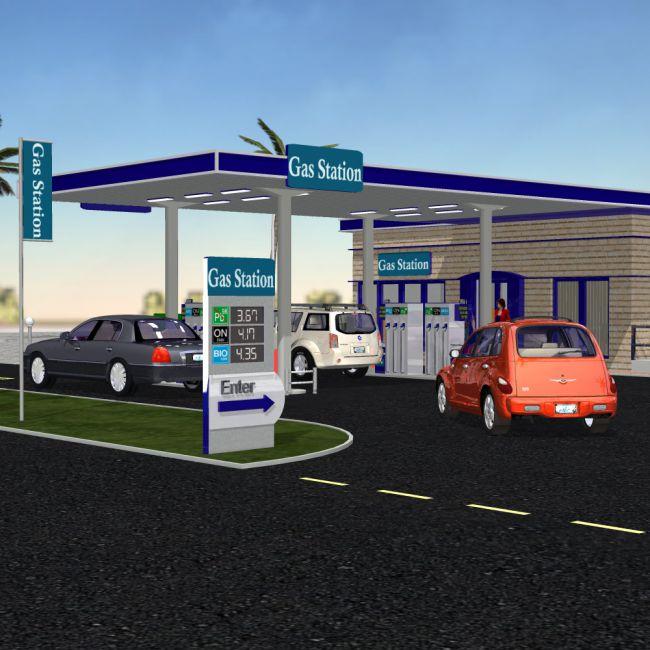 VP Gas Station (for Poser)