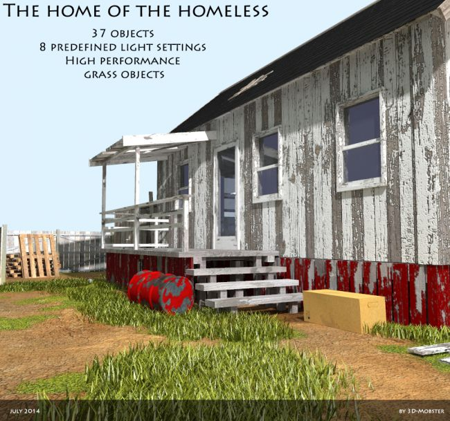The home of the homeless