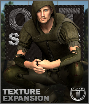 OOT Styles for Sherwood Hunter Outfit for Genesis 2 Male(s)