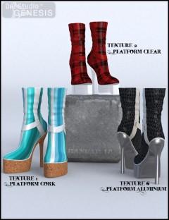 Wicked Footwear 002 Textures