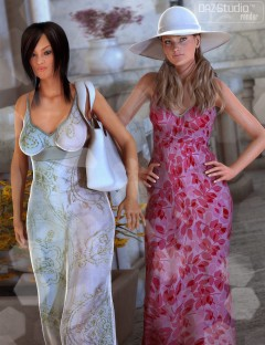 Summer Casuals Fitted Sundress Textures 1
