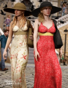 Summer Casuals Fitted Sundress Textures 2