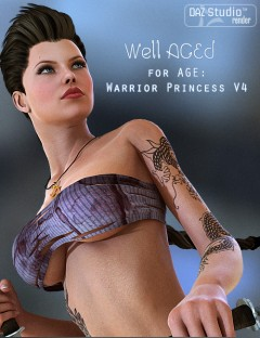 Well AGEd Warrior Princess V4
