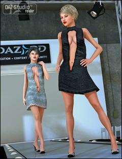 Open Front Dress Textures
