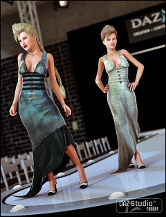 Fashionable Movie Dress Textures