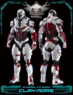 Coalition Claymore Armor