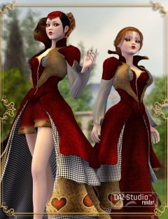 Wonderland Queen of Hearts Unimesh Fits
