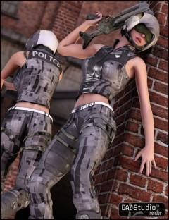 V4 Future Cop Unimesh Fits