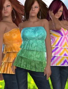 Summertime Styles for Ruffle Top