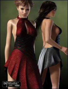 Evening Style Dress Textures