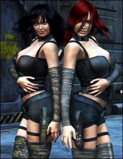 Night Walker- for Omega Huntress X
