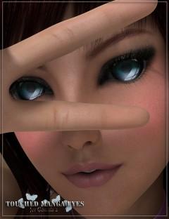 Touched Manga Eyes for Genesis 2 Female(s)
