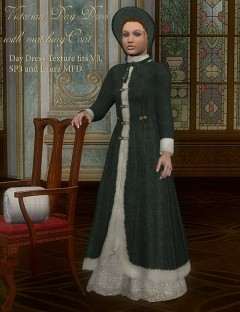 Victorian Day Dress and Coat