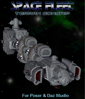 Space Ship Terran Gunship