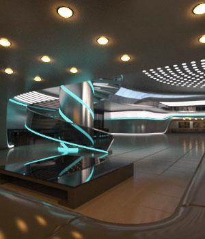 AJ Futuristic Hall