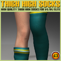 Thigh High Socks for V4/A4/Elite