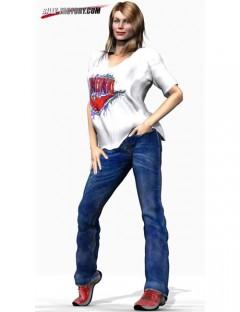 V3 Real Jeans Set