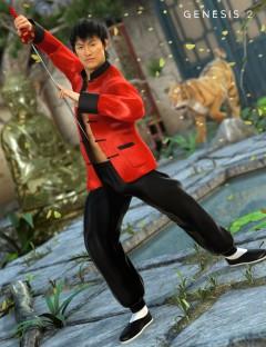 Kung Fu HD for Genesis 2 Male(s)