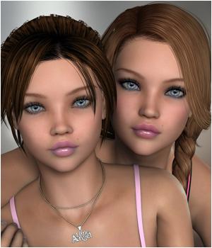 P3D Sarah and Serena