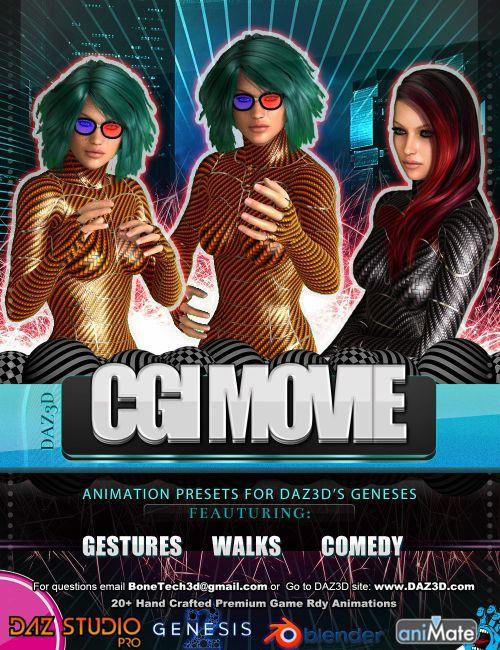 CGI Movie Bones Vol.1