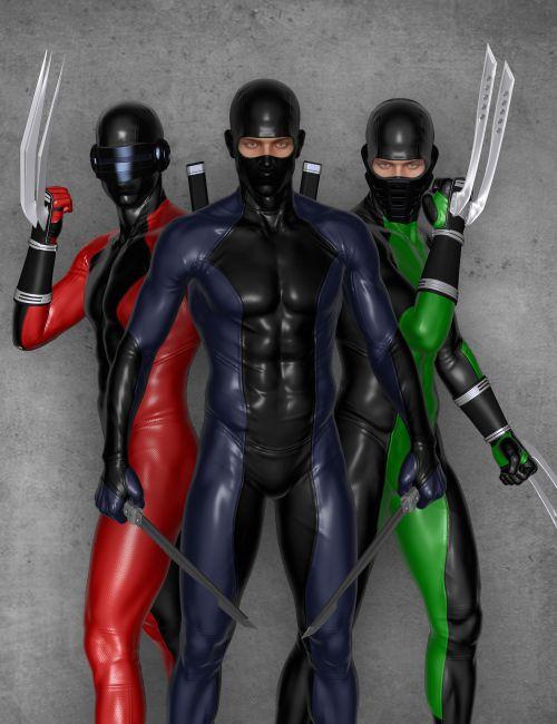 Modern Ninja Blades for Genesis 2 Male(s)