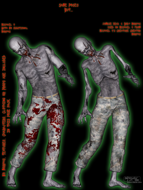 Zombie Moves For M4