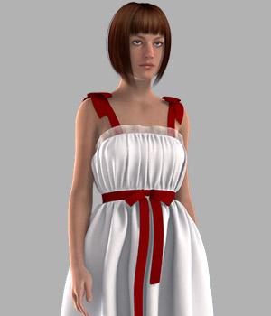 Ribbon Bow Dress