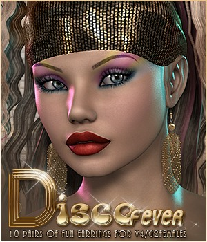 SVLF Disco Fever Earrings V4/G2F