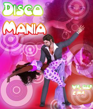 Disco Mania for V4, M4 & G2F