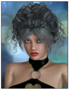 Lovy Hair for Genesis 2 Female(s) and Victoria 4