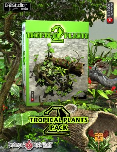 Tropical Plant Pack 2