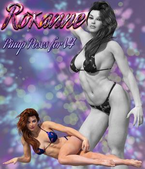 Roxanne Pinup Poses For V4