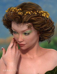 FairyFae Hair for Genesis 2 Female(s)