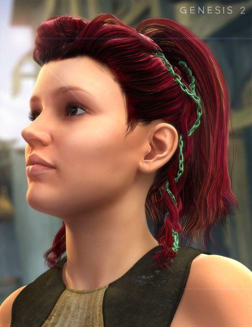 Colors for Viking Female Hair