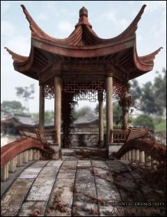 Oriental Tranquility Awakening