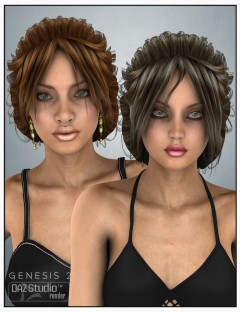Niaby Hair for Genesis 2 Female(s) and Victoria 4