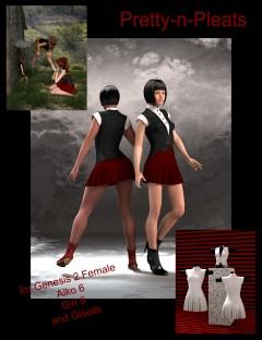 Pretty-n-Pleats for Genesis 2 Female(s)