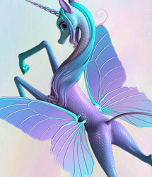 Fairytale Wings for the Unicorn for Poser