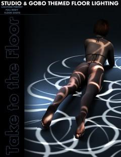 Take to the Floor DS Gobo Lighting