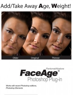FaceAge Photoshop plugin
