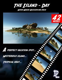 Movie Maker The Island Day Background Pack