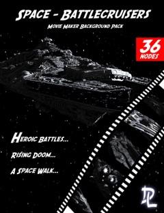 Movie Maker Space Battlecruisers Background Pack