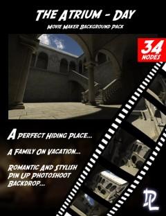 Movie Maker The Atrium Day Background Pack