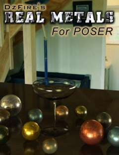Real Metals for Poser