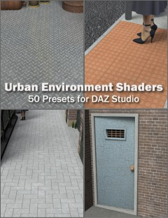 Urban Environment Shaders for DAZ Studio