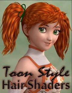 Toon Style Hair Shaders