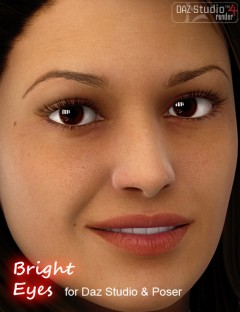 Bright Eyes for DAZ Studio & Poser